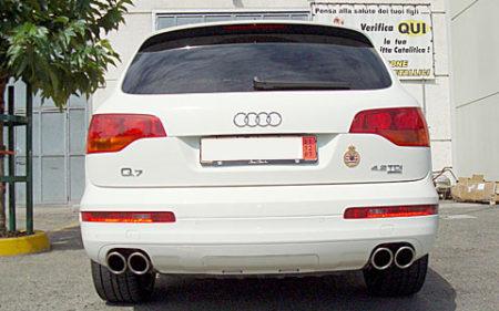 marmitte Audi Q7